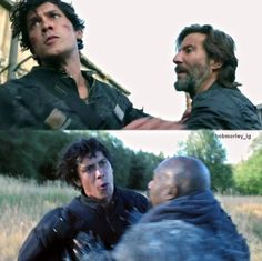 A good little knight by his queen's side... #The100 #Bellarke