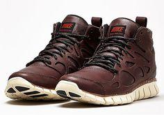 Nike Free Run 2 Sneakerboot: Barkroot Brown