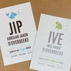 """Bonte Raaf ontwerp/illustratie on Instagram: """"Wij 💚 groen! 🌱recyclebaar geboortekaartje met rucola & basilicumzaadjes 🌱 en natuurlijk een groene kikker 🐸 ! De kikker hebben we…"""" Annie, Instagram"""