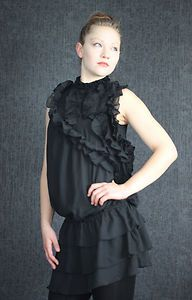 Yumu Black Dress, Romantic Stlyle...