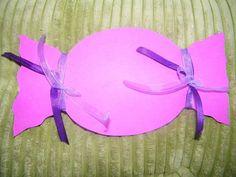 FAIRE PART MARIAGE BONBON GOURMANDISE (bapteme -menu-marque place) Ton fushia violet (2)
