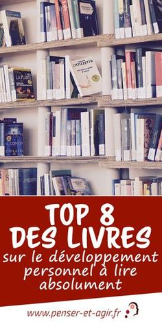 Top 8 books on personal development to read absolutely Positive Mind, Positive Attitude, Self Development, Personal Development, Business Coach, Miracle Morning, Burn Out, Book Writer, Lus