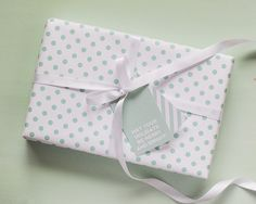BOLD GIFT WRAPPING & BOXES + TAGS