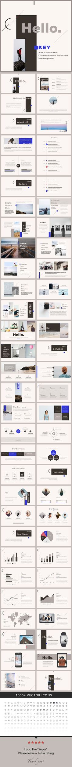 Hello - Keynote Presentation Template - Creative Keynote Templates