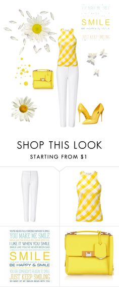 """""""Smile """" by kimberlydalessandro ❤ liked on Polyvore featuring ESCADA, STELLA McCARTNEY, Balenciaga and Dolce&Gabbana"""