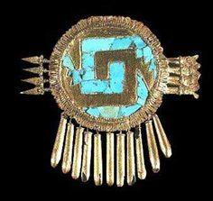Aztec Gold, Aztec Art, Aztec Jewelry, Gold Jewelry, Jewellery, Mayan Tattoos, Aztec Symbols, St Clare's, Run The Jewels