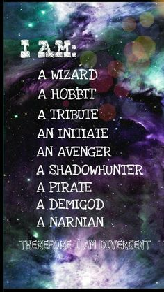 Harry Potter The hobbit The hunger games Divergent The avengers The mortal instruments Pirates of the Caribbean Percy Jackson The chronicles of narnia Percy Jackson, Book Memes, Book Quotes, Game Quotes, Tris Et Tobias, Citations Film, Die Rächer, Fandom Crossover, Film Serie