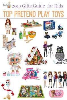 Discover the top pretend play toys for kids that encourage imaginative role-play; toys that are open-ended and battery-free. Harry Potter Dolls, Cool Gifts For Kids, Green Toys, Pretend Play, Role Play, Barbie Dream, Imaginative Play, Easy Gifts, Gift Guide