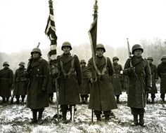 Heroics. 442 Infantry Regiment, Nisei (Japanese Americans). Most decorated regiment in The War