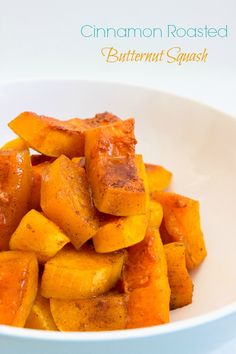 Cinnamon Roasted Butternut Squash { Vegan, Vegetarian} - Brunch Time Baker