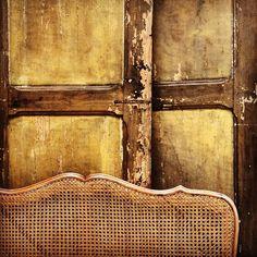 Cane & old wood doors