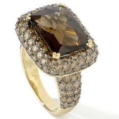 chocolate diamonds | chocolate diamonds there is a recent trend sweeping the diamond ring ...