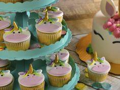 Receta de Cupcakes de Unicornio