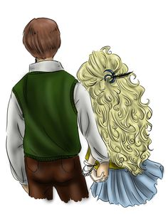 Luna Lovegood and Neville Longbottom | Neville and Luna by ~AalienoOr on deviantART