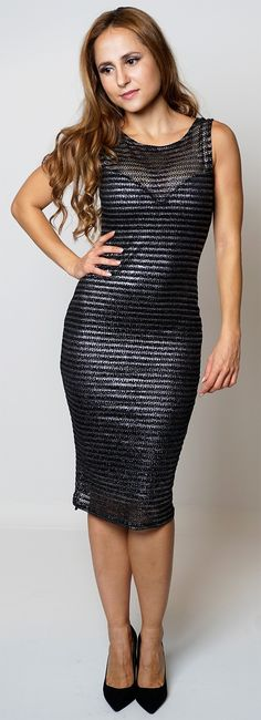 Newly added product: Womens Fashion Bl... Have a look here:http://www.fbargainsgalore.co.uk/products/womens-fashion-black-metallic-sleeveless-netted-party-bodycon-dress?utm_campaign=social_autopilot&utm_source=pin&utm_medium=pin