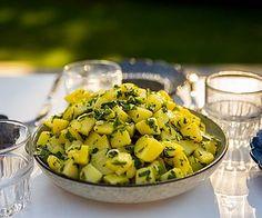 Libanesisk potatissallad