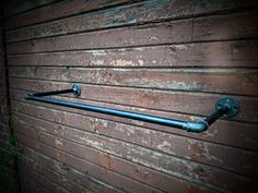 Wall mounted clothes rack Wall mounted by SilverBeardLampCo