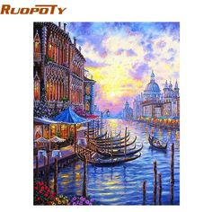 Removable Wall Art Mural 16x24 Richardss Afternoon in Venice