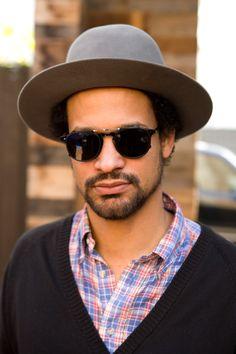 31e4d29da66 Garrett Leight  Hampton  clip-on sunglasses
