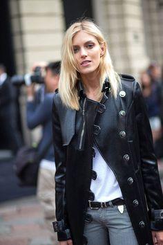 "the—one: ""Anja rubik "" www.fashionclue.net | Fashion Tumblr, Street Wear & Outfits"
