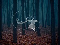 Deer - Logo by Simone Aiosa