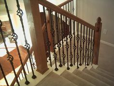 Best Details About Satin Black Twist Basket Iron Balusters 400 x 300