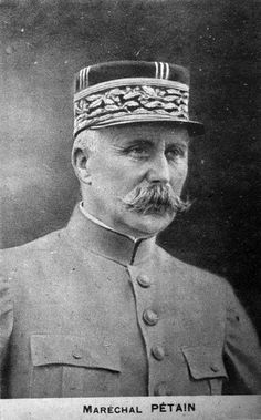 Henri Philippe Benoni Omer Joseph Pétain (24 April 1856 – 23 July 1951), generally known as Philippe Pétain (French: [fi.lip pe.tɛ̃]), Marshal Pétain (Maréchal Pétain or The Lion of Verdun), was a French general who reached the distinction of Marshal of France, and was later Chief of State of Vichy France (Chef de l'État Français), from 1940 to 1944. Pétain, who was 84 years old in 1940, ranks as France's oldest head of state. - From Wikipedia