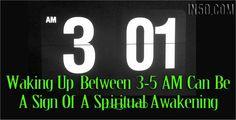 Waking Up Between 3-5AM Can Be A Sign Of A Spiritual Awakening