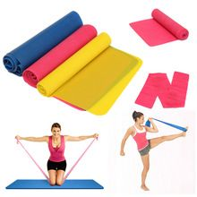 Trade Assurance Latex Flat Resistance Bands 3 Set / Physical Therapy Fitness Bands / Resistance Exercise Bands