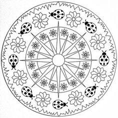 Mandala Coloring Pages Printable. Collection of Mandala coloring pages. You can find mandala images to color, from easy to hard. Mandala Art, Mandala Pattern, Mosaic Patterns, Mandala Design, Mandala Drawing, Mandala Coloring Pages, Coloring Book Pages, Printable Coloring Pages, Coloring Sheets