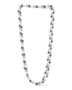 Multi Pearl Endless Necklace