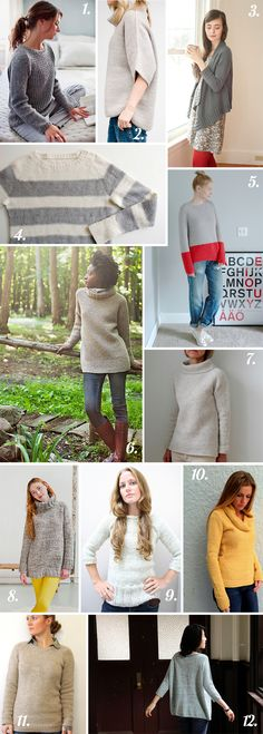 Closet Case Files: Easy Sweaters for fall!
