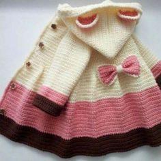 Easy Crochet Coat - Free Pattern