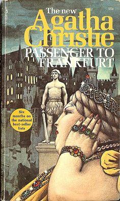Passenger to Frankfurt - Agatha Christie - Cover art: Tom Adams