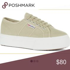 c894fdd016cc4 Superga 2790 Brand new in box. 2 available. Size 8 and 8.5. These run big.  Color is taupe. Superga Shoes Sneakers