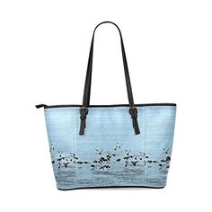 Find Arts Customized Flock Off Leather Tote BagLarge 080 -- Click image for more details.