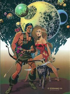 202 best World of Pulp images on Pinterest   Book covers  Comic     Cap n s Comics  A Trio of Barbarians In Space by Jim Steranko