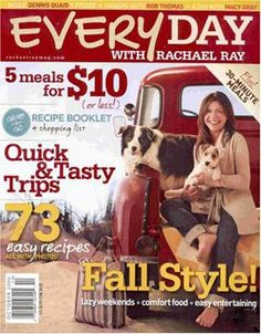 Subscribe to Every Day with Rachael Ray Magazine $4.99/year,Popular Science Magazine $4.99/year