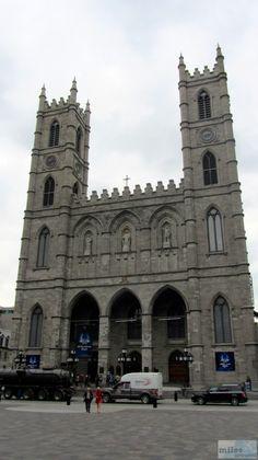Notre-Dame de Montréal - Check more at https://www.miles-around.de/nordamerika/kanada/quebec/altstadt-montreals/,  #Geocaching #IndianSummer #Kanada #Montréal #Olympiade #Québec #Reisebericht #USA
