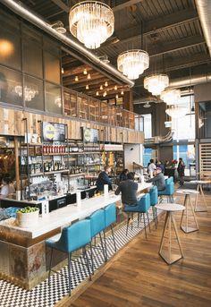 Jamie's (Oliver) Italian | NORTH YORK: Yorkdale Mall | Toronto Life Jamies Restaurant, Pizza Restaurant, North Italia Restaurant, Farmhouse Restaurant, Coffee Shop Design, Cafe Design, American Dinner, Jamie's Italian, Deco Cafe