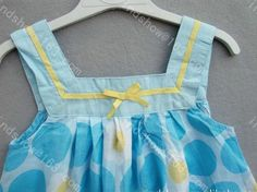 hotsale summer girls dress suspender blue baby dress size 1T  2T  3T  4T  5T 6T  6pcs/lot freeshipping
