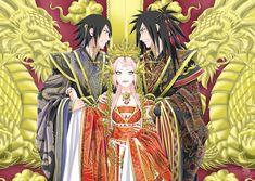 SasukeQueenMadara by Hanabi-Rin.deviantart.com on @DeviantArt
