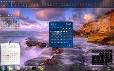 Calendar. Linux, Mac, Windows.