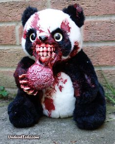 UndeadTed Panda. One of the many horrible things created by  UndeadTeds.