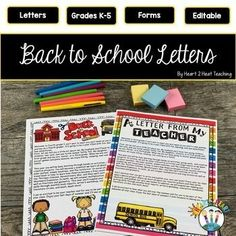 Welcome your new students back to school! Use these 12 different designed Welcome Letters templates to introduce yourself and start off the school year right. This pack includes both LETTERS TO STUDENTS & LETTERS TO PARENTS all in one pack! Newly Updated for 2020-2021 with a Google Slides version...