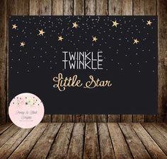 Twinkle Twinkle Little Star Backdrop, Twinkle Little Star Birthday Backdrop, Twinkle Little Star Baby Shower Backdrop, Buffet Table Backdrop by PeonyBlushDesigns on Etsy