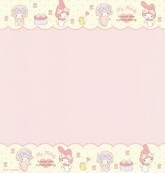 """Sanrio My Melody """"Volume"""" Letter Set My Melody Wallpaper, Sanrio Wallpaper, Cute Backgrounds, Cute Wallpapers, Hello Kitty, Memo Notepad, Printable Scrapbook Paper, Cute Notes, Kawaii"""