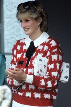 June 12, 1983: Princess Diana at a Polo match at Windsor.