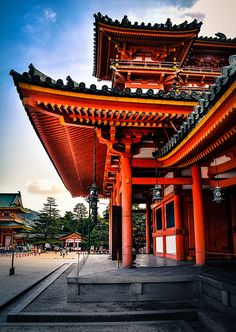 Architecture - Places of Worship - Pagoda Kyoto Japan Architecture Du Japon, Asian Architecture, Cultural Architecture, Architecture Design, Temple Architecture, Beautiful Architecture, Japanese Temple, Japanese House, Japanese Shrine