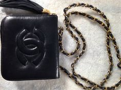 70's Vintage CHANEL bag crossbody great condition
